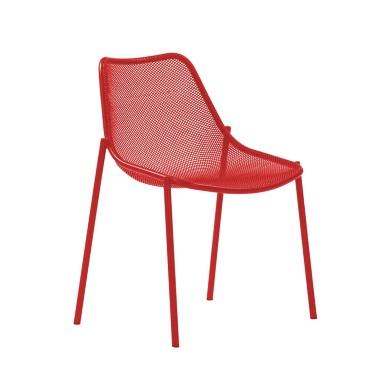 Chaise jardin design emu round mobilier de jardin exterieur marseille aix la ciotat manutti - Mobilier jardin rouge besancon ...
